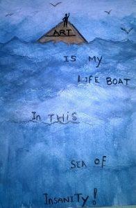 Lifeboat by Kaz Indigo Raven