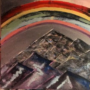Mountain Rainbow by Madeleine Pickett