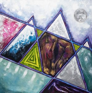 Mountains of my mind by Burgette Matthews